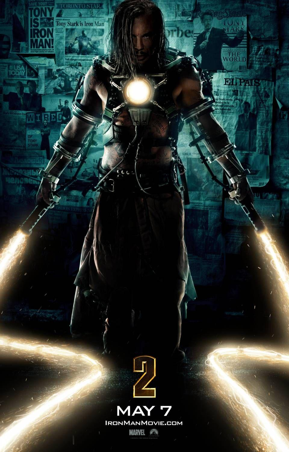Iron Man 2: Extra Large Image Movie Poster - Internet Movie Poster Gallery Prix