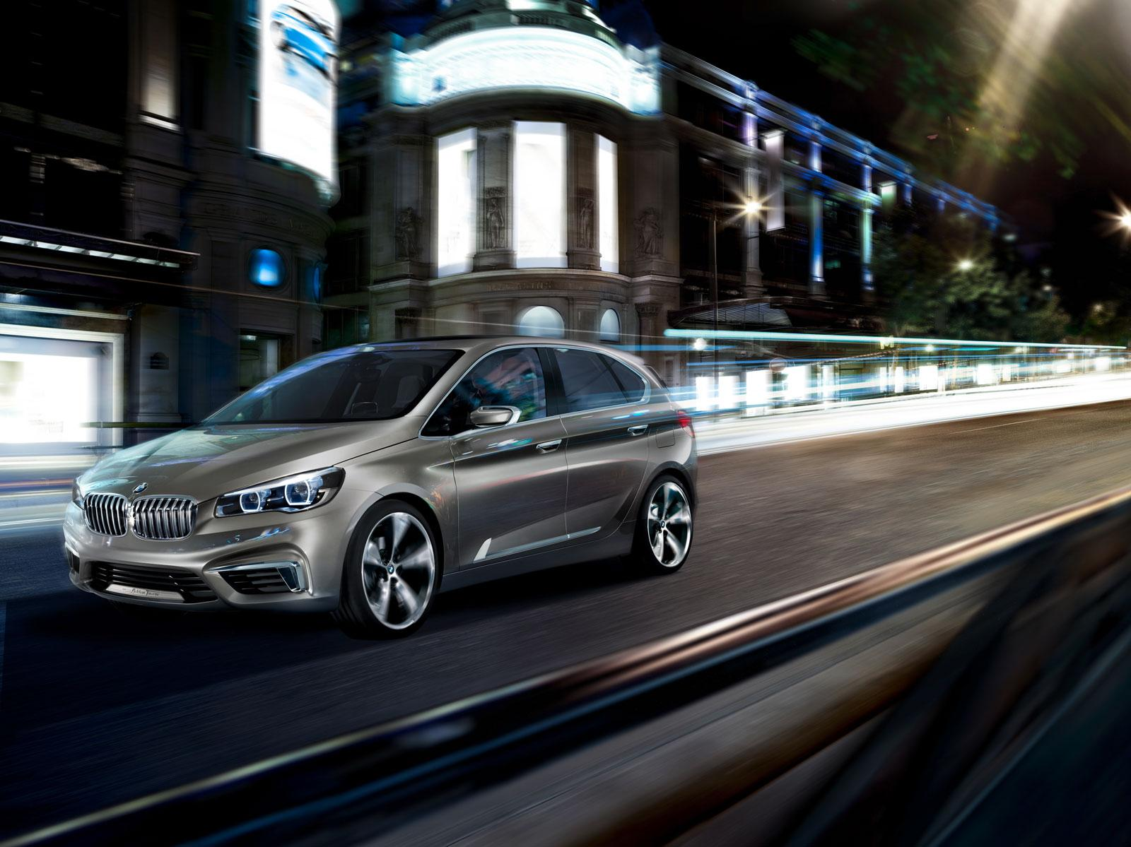 BMW Concept Active Tourer - Car Body Design