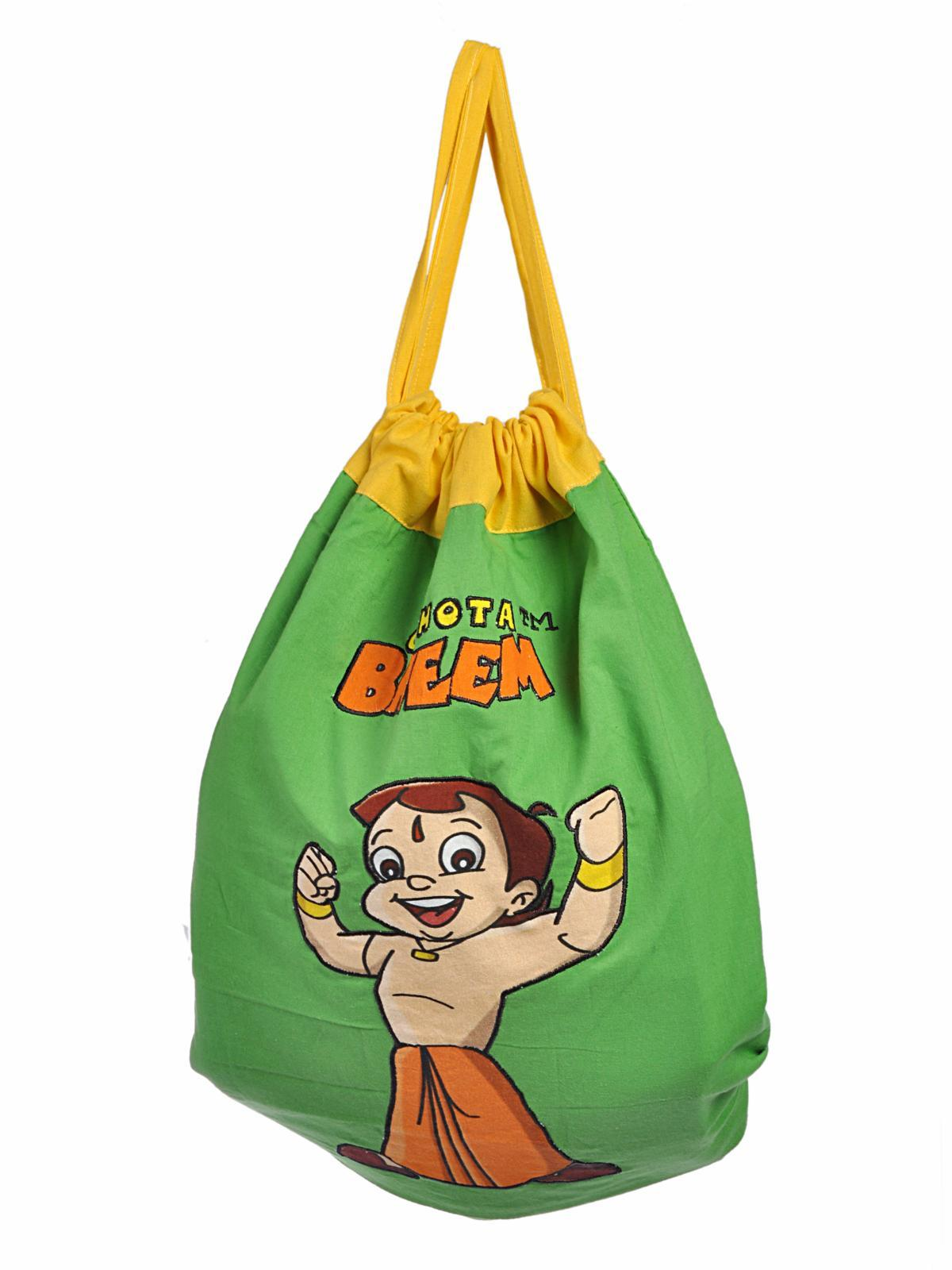 chota bheem: chhota bheem activity bag, jungle, green at hoopos.e - 3mik.com