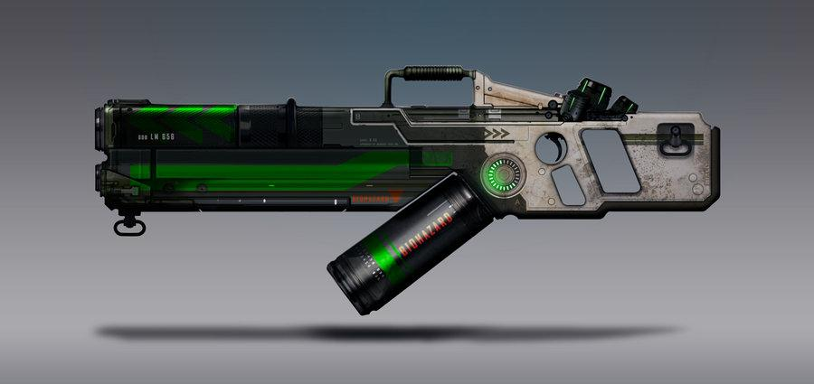 Commission Concept Art - Goo Launcher by *torvenius