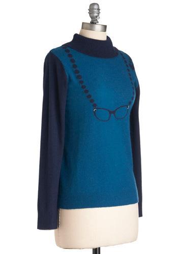 Crystal Clear Cardigan   Mod Retro Vintage Sweaters   ModCloth.com