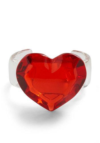 Candied Heart Bracelet | Mod Retro Vintage Bracelets | ModCloth.com