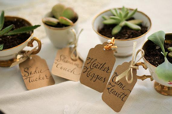 Escort Cards - Wedding Trends - Etsy