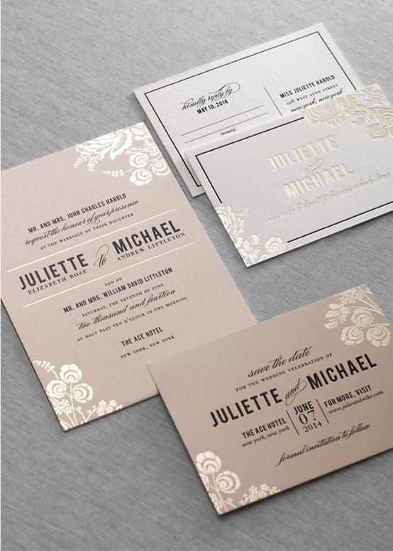 Stationery - Wedding / Dauphine Press Stinson Suite