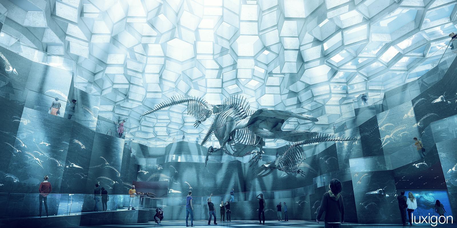 musée d'histoire naturelle - Copenhagen, DK «LUXIGON