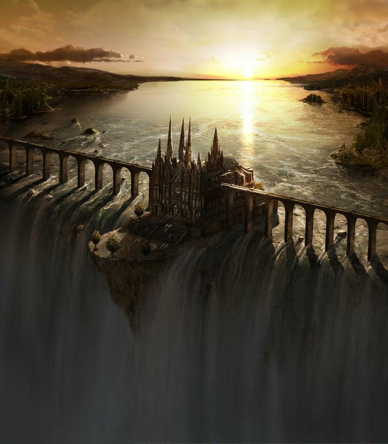 castles,bridges castles bridges fantasy art waterfalls 1024x1174 wallpaper – castles,bridges castles bridges fantasy art waterfalls 1024x1174 wallpaper – Waterfall Wallpaper – Desktop Wallpaper