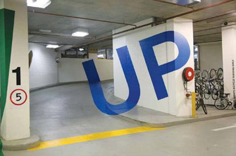 Weird & Wonderful Wayfinding: 3D Parking Garage Signage | Designs & Ideas on Dornob