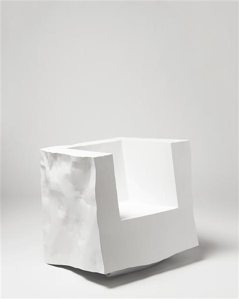 Phillips de Pury & Company: Moss, ROBERTO MORA, Unique 'Cartocciona' armchair