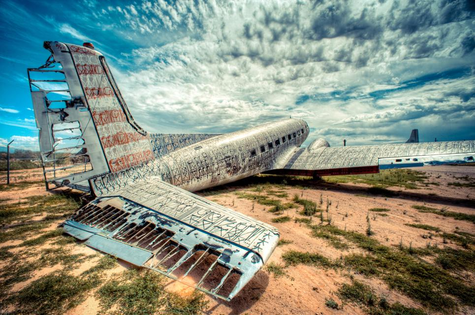 The Boneyard Project: Retired Airplanes turned into Art | inspirationfeed.com