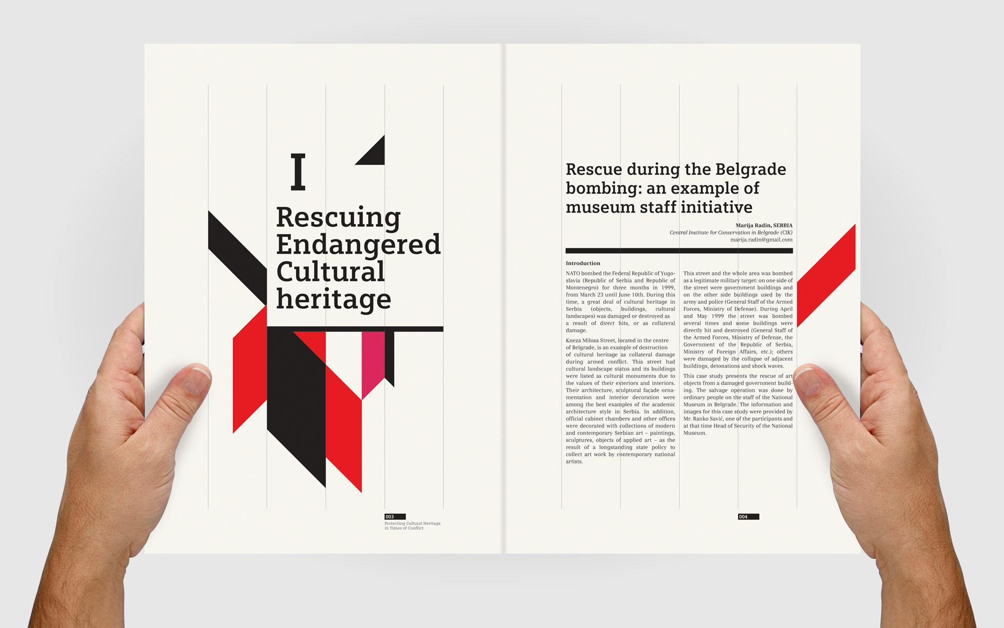 ICCROM Editorial Design « 8 Bis Agency