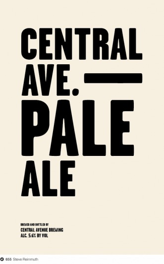 Central Avenue Brewing on Dropula - The inspirational catalogue — Designspiration