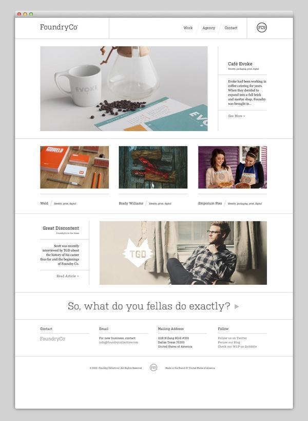 Web / Websites We Love — Designspiration
