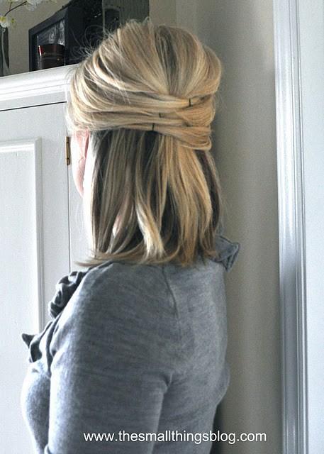 glitter in my veins / cute hair tutorials