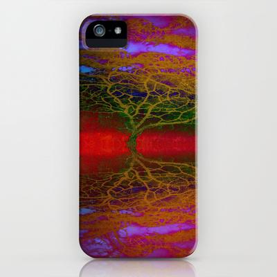 Tangled Tree iPhone Case by Ally Coxon | Society6