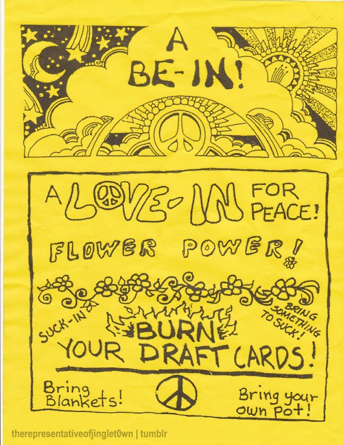 illustrations / hippie