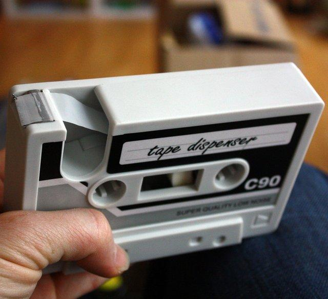 Cassette Tape Dispenser | Fancy Crave