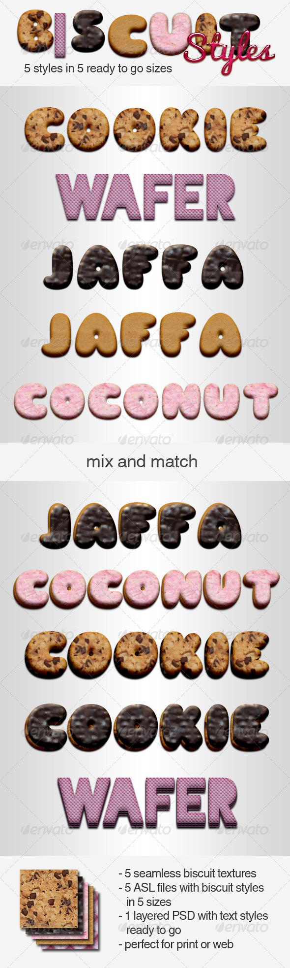 Add-ons - Biscuit Styles   GraphicRiver