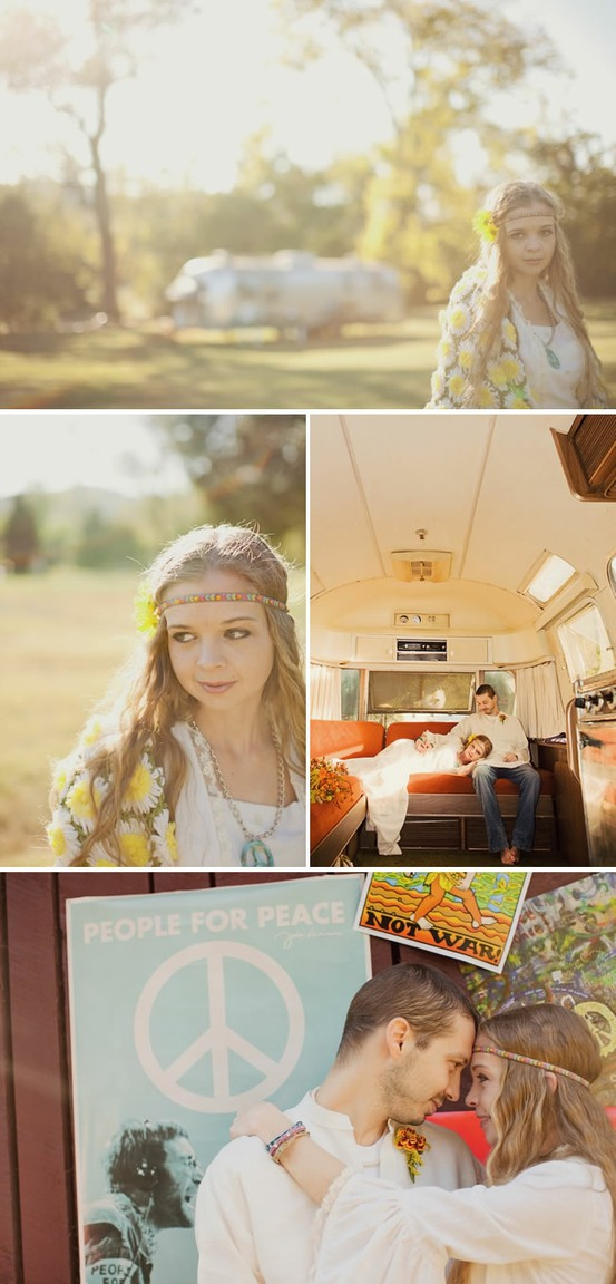 Bohemian Wedding Ideas / Hippie