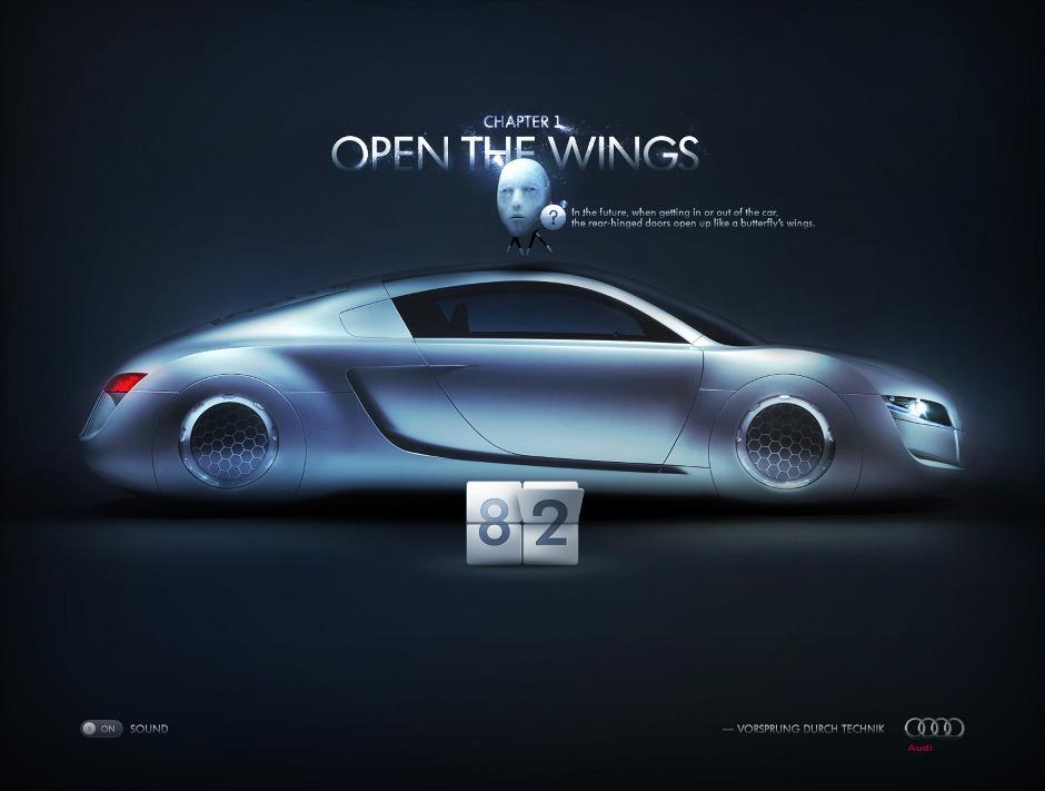 Déverrouiller l'avenir, Audi - Felipe Ferreira