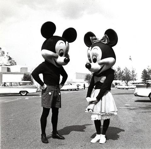 Mickey and Minnie Mouse 1950s | Flickr - Photo Sharing!