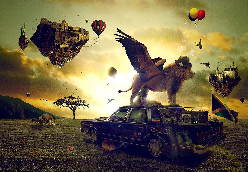 Influential Digital Artworks by Emeric Trahand   inspirationfeed.com