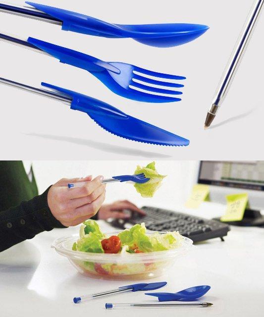 Dine-Ink Pen Utensil Set | Fancy Crave