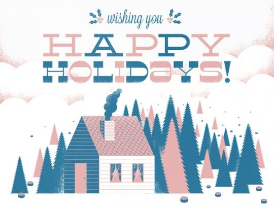 Wishing you happy holidays. Quotes.