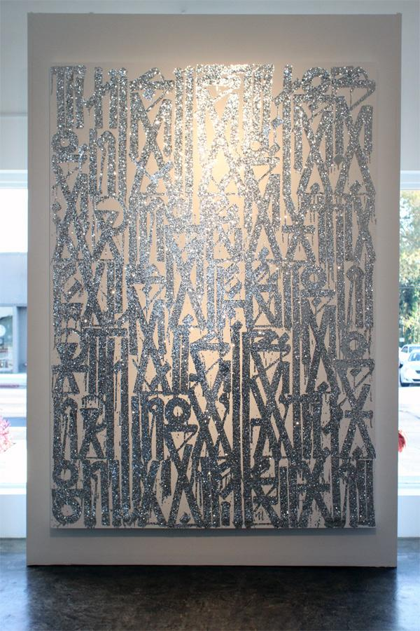 In LA: Retna @ Michael Kohn Gallery