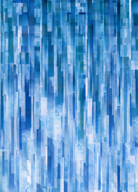 Rain (Clouds Remix) Art Print by Jacqueline Maldonado | Society6
