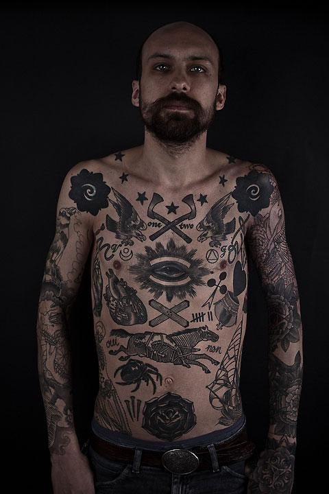Tattoos by Thomas Hooper — Lost At E Minor: For creative people