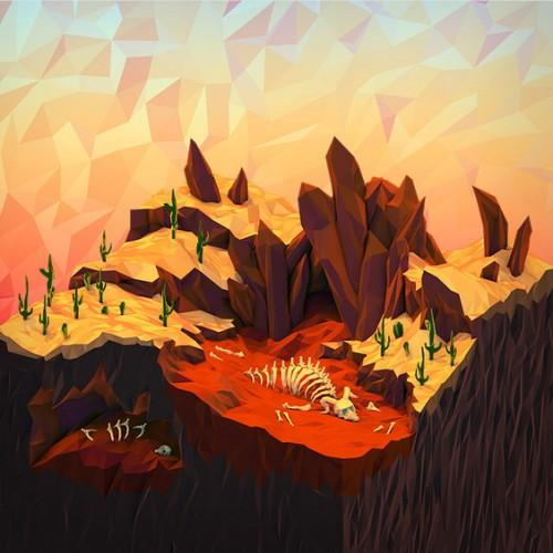 Geometric Landscapes by JR Schmidt - What an ART