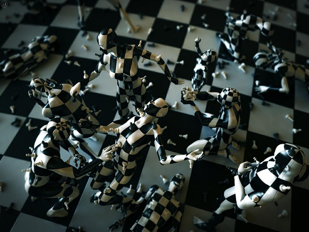 Chess - 3D Artwork by Alex Vladimirovich - What an ART