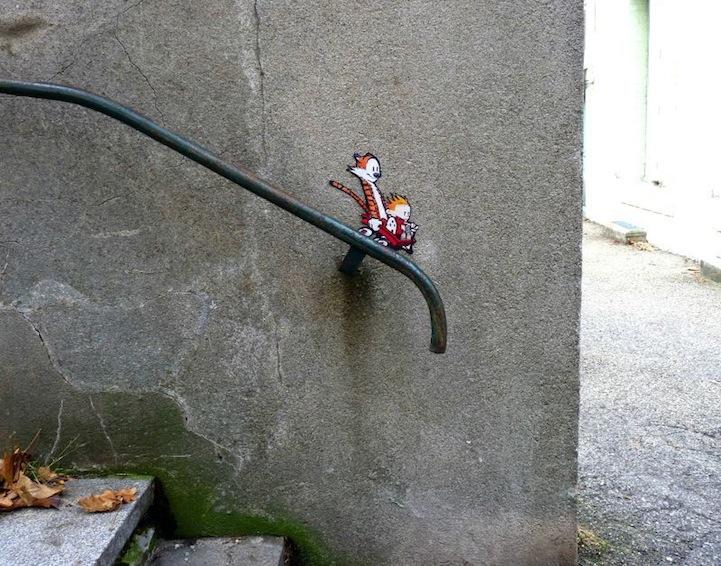 Funny Site-Specific Street Art - My Modern Metropolis