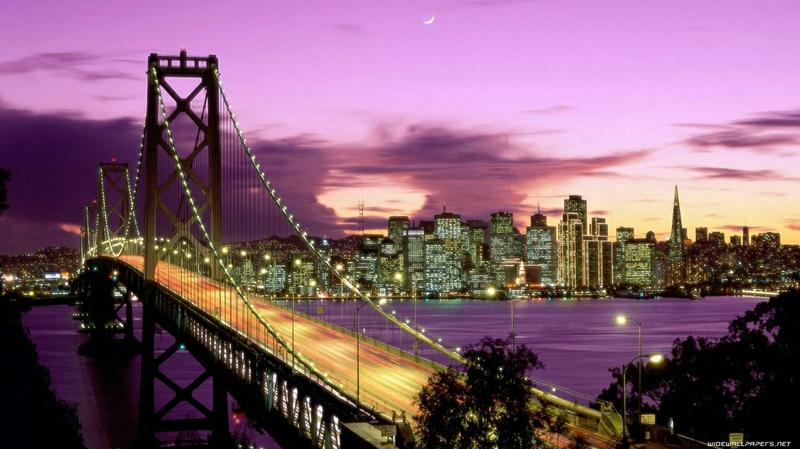 cityscapes,night cityscapes night bridges 1366x768 wallpaper – cityscapes,night cityscapes night bridges 1366x768 wallpaper – Bridges Wallpaper – Desktop Wallpaper