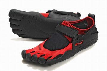 men s vibram fivefinger kso black red bare foot sneaker