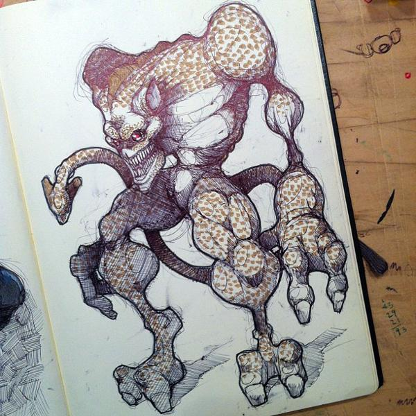 MOLESKINE SKETCHES 4