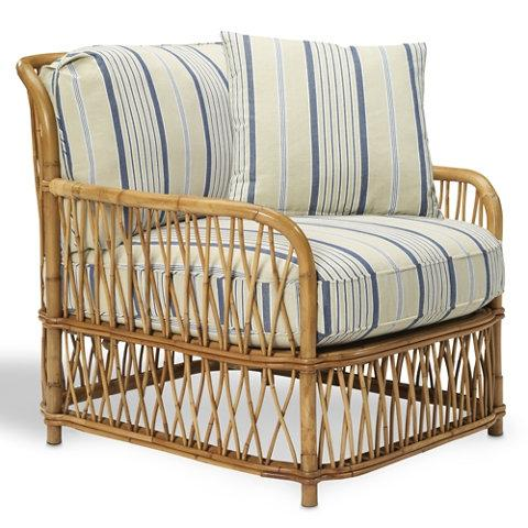 Seating - ANTIBES RATTAN LOUNGE CHAIR - Ralph Lauren / Folia - Purchase Shop - DesignTrade.net