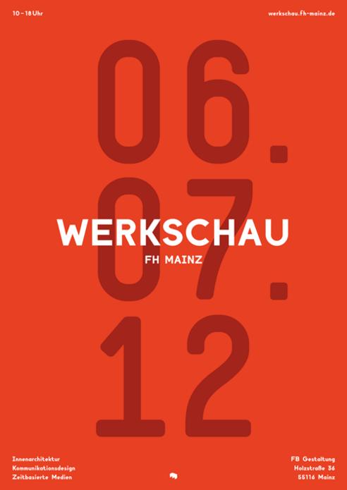 Werkschau FH Mainz