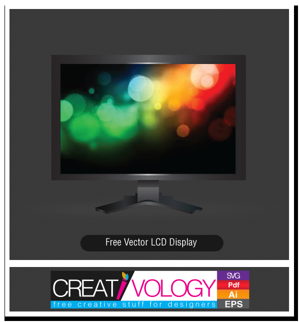 Free Vector LCD Display | creativology.pk