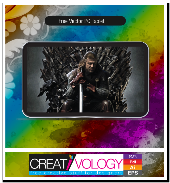 Free Vector Pc Tablet | creativology.pk