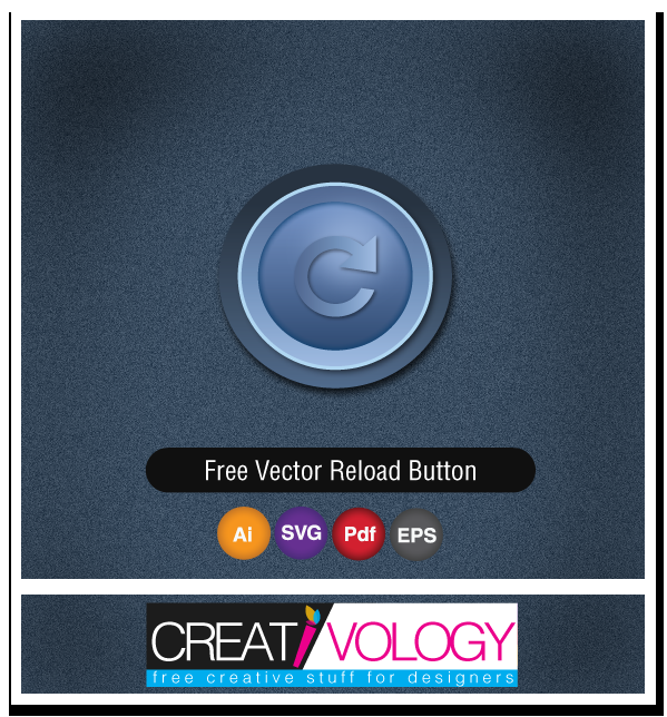 Free Vector Reload Button | creativology.pk
