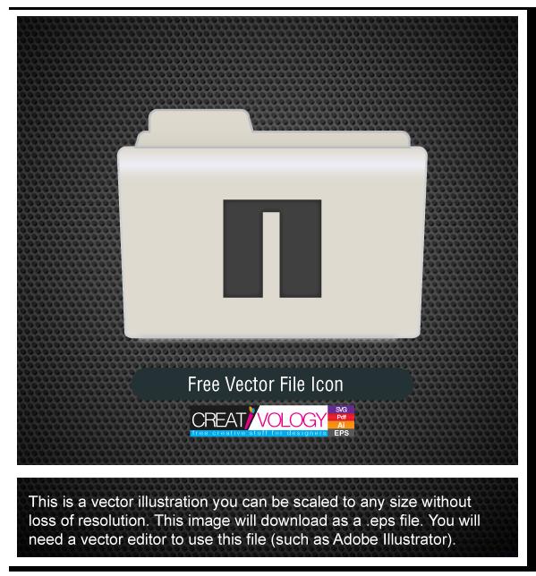 Free Vector File Icon | creativology.pk