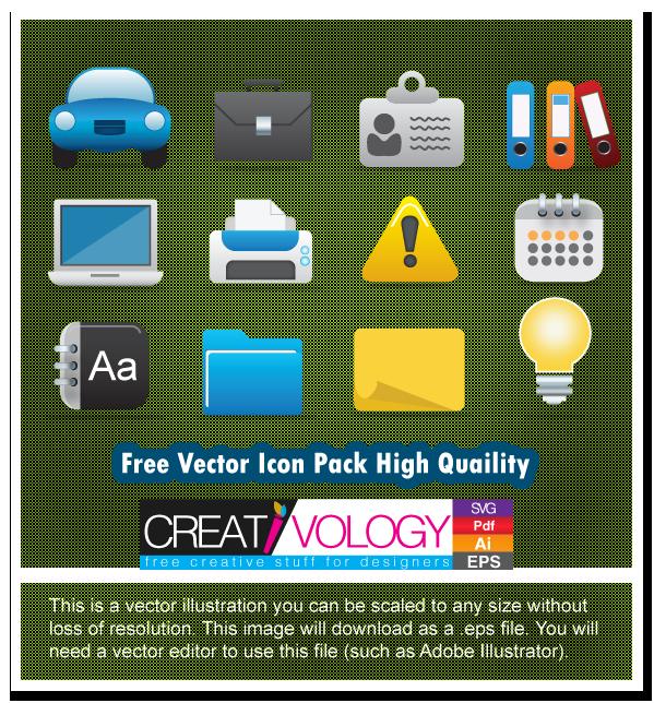 Free Vector Icon Pack High Quaility | creativology.pk