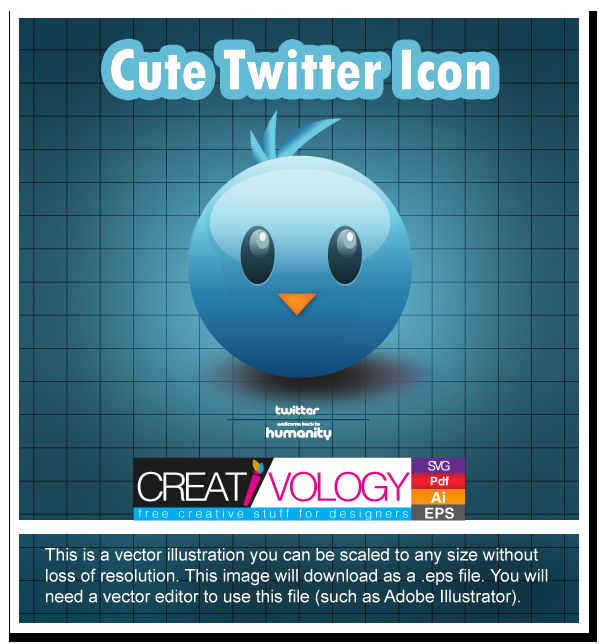Free Vector Twitter icon | creativology.pk