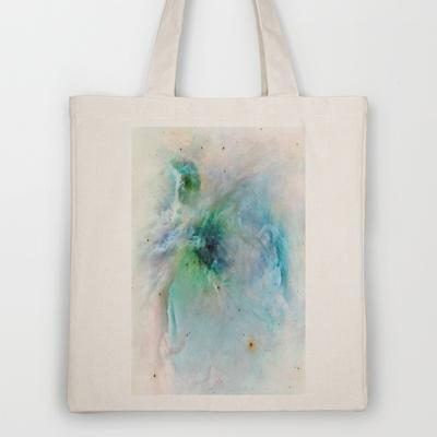 Orion Nebula Tote Bag by Ally Coxon | Society6