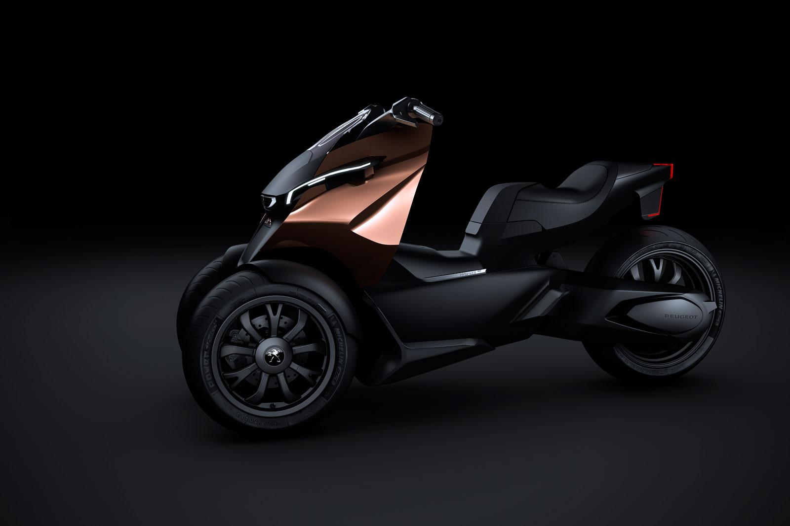 Peugeot Onyx Concept Scooter - Car Body Design