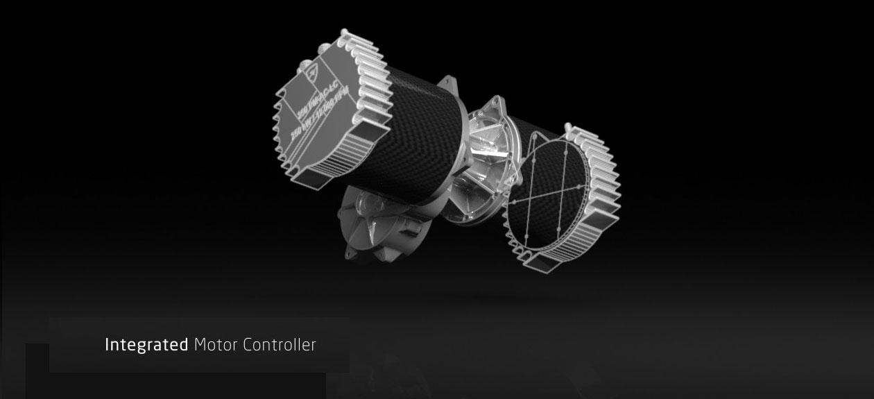 Concept_One Propulsuon system - Rimac Automobili