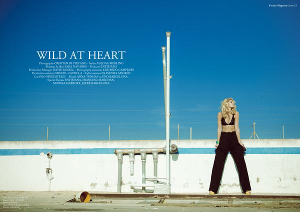 FACTICE MAGAZINE #13 · WILD AT HEART on Fashion Served