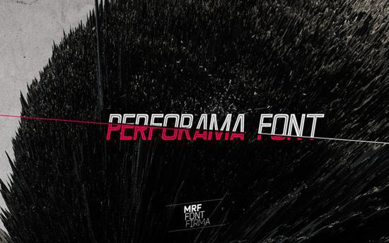 Free Font: Perforama
