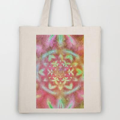 Kaleidescope Tote Bag by Ally Coxon | Society6